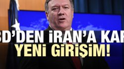 ABD 'den İRAN 'a Karşı Yeni Girişim