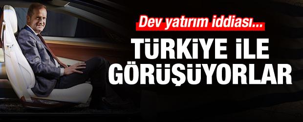 Dev yatırım iddiası: Türkiye'yle görüşüyorlar