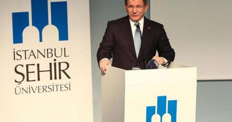 Davutoğlu'nun kurduğu İstanbul Şehir Üniversitesi'nin faaliyet izni kaldırıldı