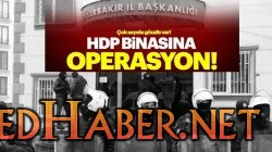 HDP Li Belediye ye Polis Baskını