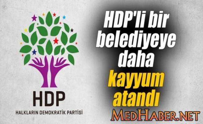 HDP Lİ BELEDİYE YE KAYYUM ATANDI