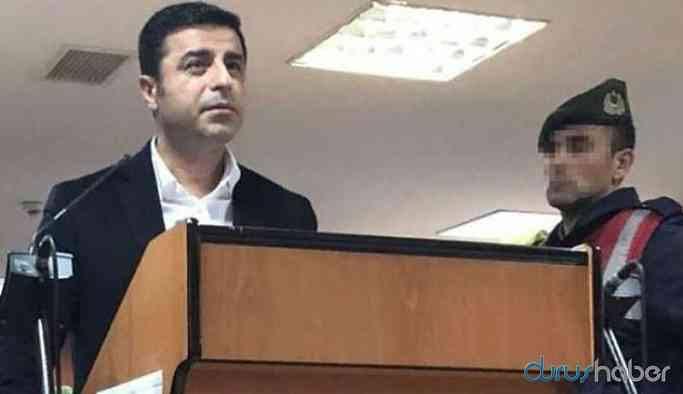 Demirtaş, 'Erdoğan'a hakaret davası'nda duruşmaya bizzat katılmak istiyor