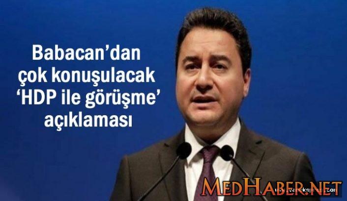 Babacan Dan HDP Açıklaması