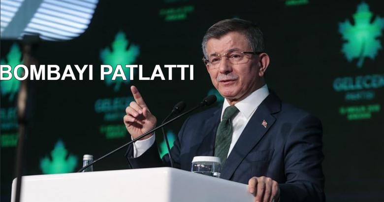 Davutoğlu Konuştu Sorumlusu Erdoğan
