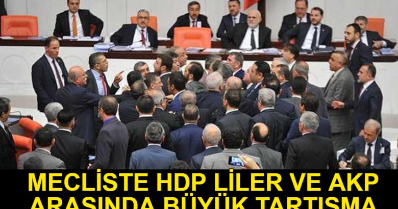 HDP İle AKP liler Arasında Büyük Tartışma