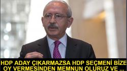 Kılıçdaroğlundan HDP Seçmeni Açıklaması