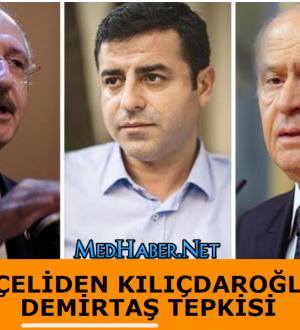 Bahçeliden Kılıçdaroğluna Selahattin Demirtaş Tepkisi