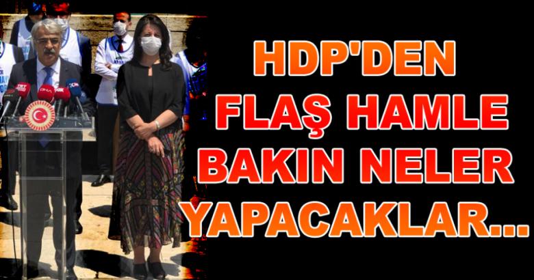 HDP'DEN FLASH HAMLE BAKIN NELER YAPACAKLAR
