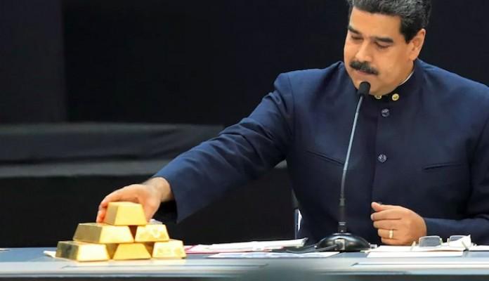 Venezüella'nın milyar euroluk altınlarına el konuldu.