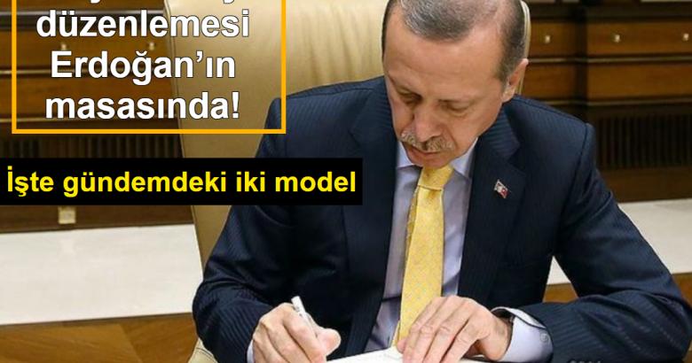 Sosyal medya düzenlemesi Erdoğan'ın masasında! İşte gündemdeki iki model