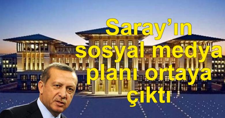 Saray'ın sosyal medya planı ortaya çıktı
