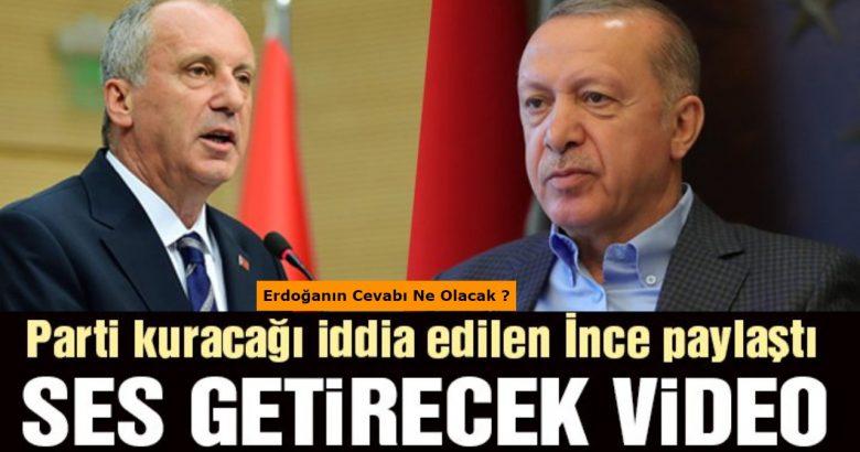 Muharrem İnce'den Erdoğan'a videolu dolar göndermesi