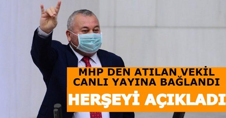 MHP Den İhraç edilen vekil canlı yayına konuŞtu