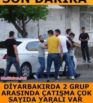 Diyarbakırda 2 Grup Arasında Çatışma