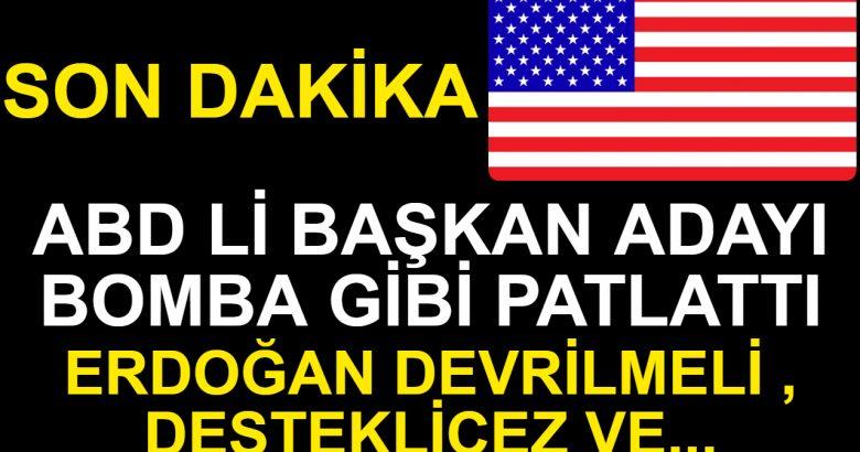 Joe Biden'ın 'Erdoğan darbe ile değil seçimle değişmeli' açıklamalarına Beştepe'den sert tepki