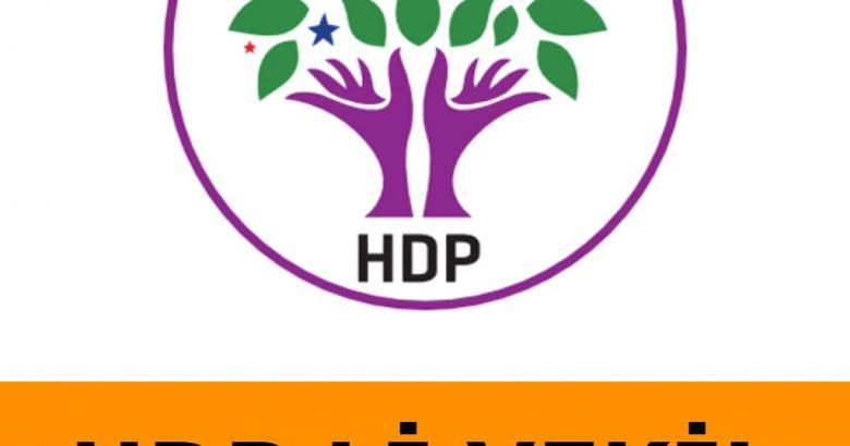 HDP Li Vekil Hakkında Yeni Gelişme