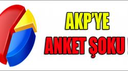 Son Ankette AKP'Ye bir Şok Daha