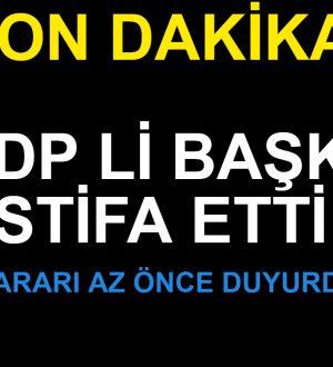 HDP li Belediye Başkanı İstifa Etti