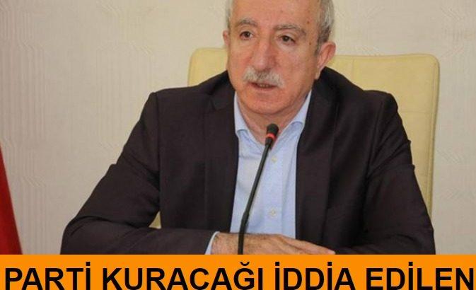 Parti kuracağı iddia edilen Orhan Miroğlu'ndan açıklama