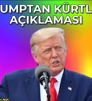 Trump: Suriye'deki petrol konusunu Kürtlerle görüşebiliriz