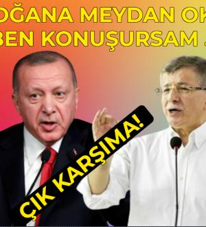 Davutoğlundan Erdoğana Hodri Meyda Ben Konuşursam …!