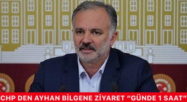 CHP Den Ayhan Bilgen'e Ziyaret