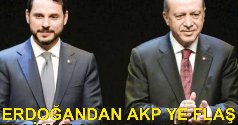 Erdoğan'dan AKP Ye Talimat