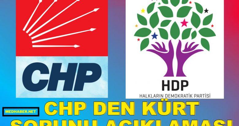 CHP Den Yeni Açıklama Çözüm için talibiz