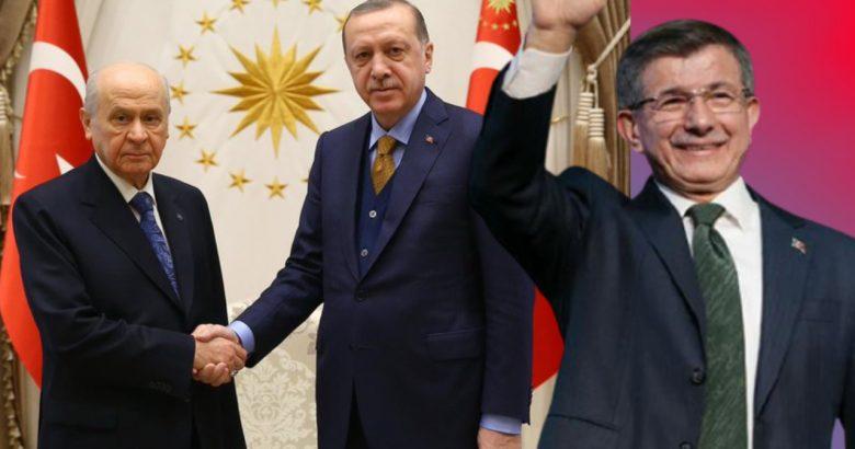 Davutoğlu: Bahçeli, Erdoğan'ı ortada bırakacak Çünkü
