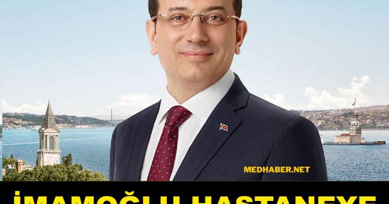 Ekrem İmamoğlu'nun koronavirüs testi pozitif çıktı!