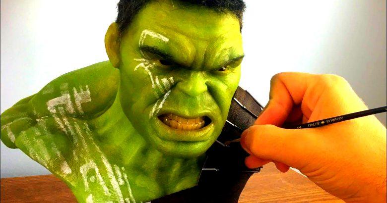 Bir Hulk Heykelli Elle Nasıl Yapılır