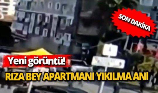 Rıza Bey Apartmanı'nın yıkılma anı ortaya çıktı