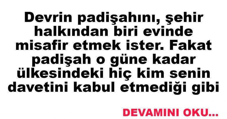 ~PADİŞAH SÖZÜ… ~