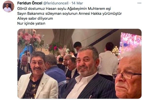 Peker operasyonunda gözaltına alınan Öncel'in, Soylu'nun babasıyla fotoğrafı çıktı