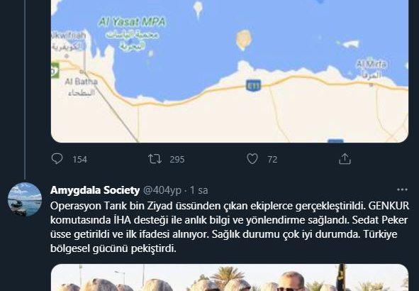 Sosyal medyaya hareketlendi Sedat Peker yakalandı !