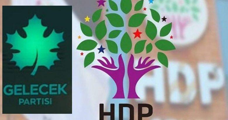 Gelecek Partisinden HDP'ye destek ziyareti