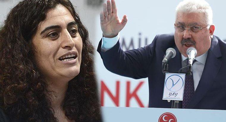 MHP'den, Sebahat Tuncel'e çok ağır hakaretler!