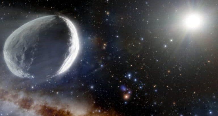 Dış güneş sisteminde bulunan dev kuyruklu yıldız