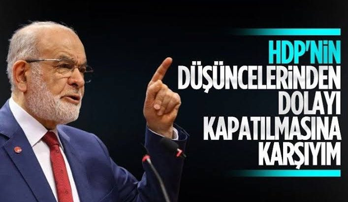 Karamollaoğlu'ndan HDP'nin kapatılmasına ilişkin açıklama