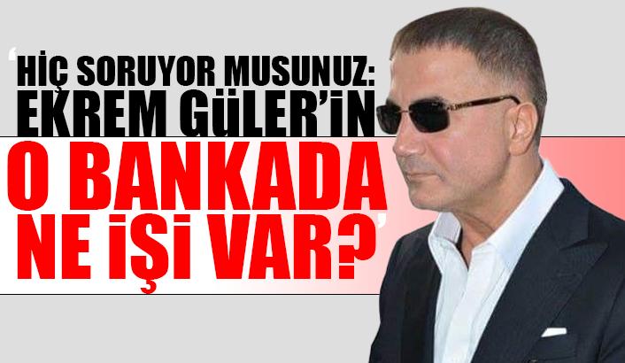 Sedat Peker, bu kez soruyu CHP'lilere sordu