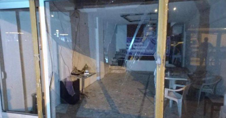 Marmaris'te HDP binasına bir saldırı daha!