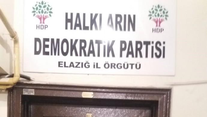 Elazığ'da HDP'lilere tehdit