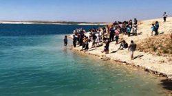 Urfa'da baraj gölüne giren 3 kardeş boğuldu