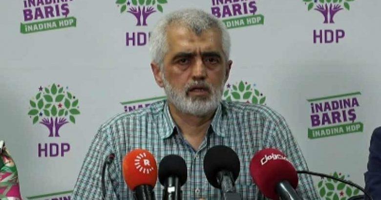 HDP'li Gergerlioğlu'ndan ilk açıklama